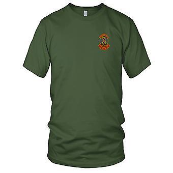 U.S. 3 Kompania lotnictwa Atak śmigłowca - wojny wietnamskiej śmigłowca z załogą haftowane Patch - Koszulka męska
