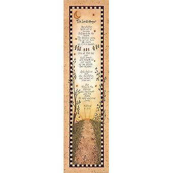 The Lords Prayer Poster Print by Linda Spivey (8 x 30)