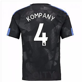 2017-18 maglia Third man City (Kompany 4) - bambini