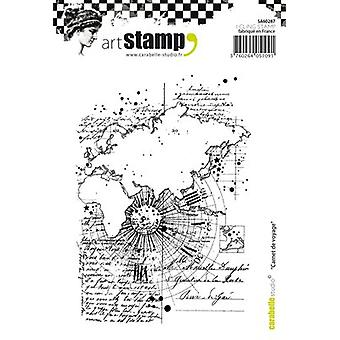 Carabelle Studio Cling Stamp A6-Travel Notebook SA60287