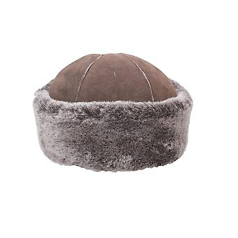 Eastern Counties Leather Womens/Ladies Duxford Dome Panel Sheepskin Hat
