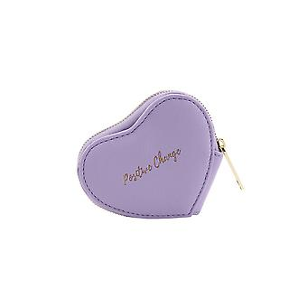 CGB Giftware Willow And Rose Positive Change Lilac Heart Purse