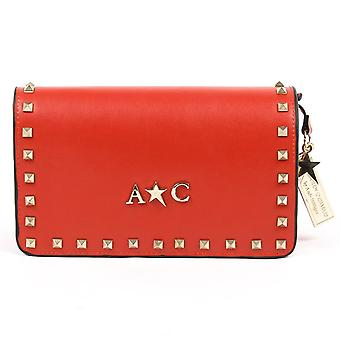 Andrew Charles Womens handtas rood Paige