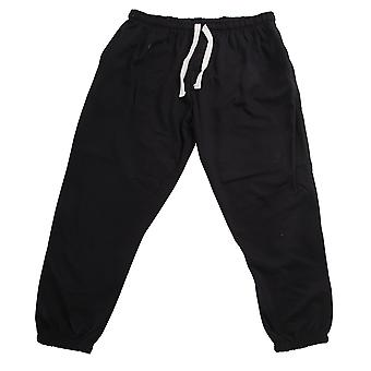 Redtag Sportswear Mens Elasticated Closed Cuff Plus Size Jogging Bottoms