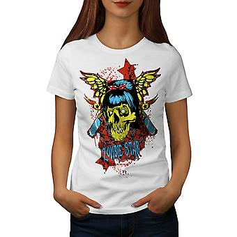 Star Butterfly Zombie kvinner WhiteT-skjorte   Wellcoda