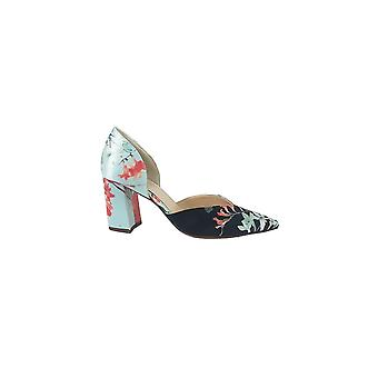 Högl Hogl Satin Floral Court Shoe - 107518