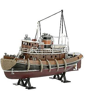 Revell 05207 Harbour Tug Boat Watercraft assembly kit 1:108