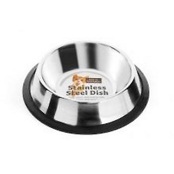 Fed N Watered Stainless Steel Non Tip Cat Dish