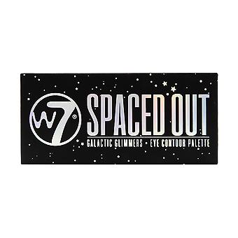 W7 Spaced Out Galactic Glimmers Eye Shadow Eye Contour Palette