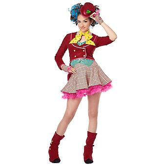 Mad As A Hatter Alice In Wonderland Fairytale Book Week Tween Girls Costume