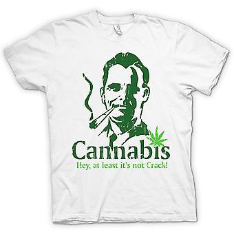 レディース t シャツ - 大麻 - 少なくともそのない亀裂
