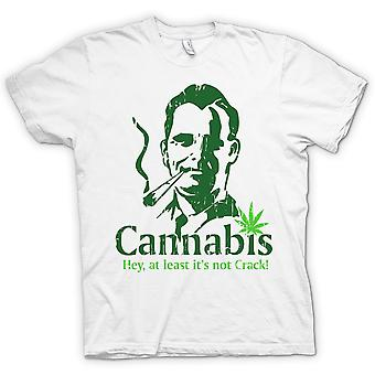 Womens T-shirt - Cannabis - zumindest seine nicht-Crack