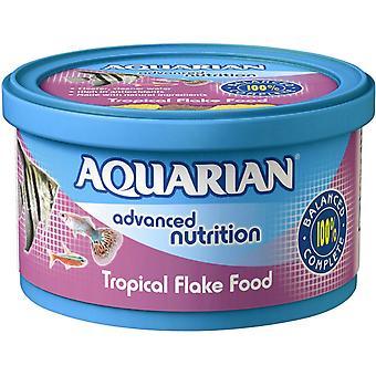 Aquarian Tropical Fish Flake Food Complete Fish Food 200g