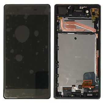 Sony display LCD complete unit with frame for Xperia X F5121 F5122 black spare parts