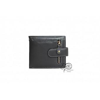 Eastern Counties Leather Bi-Fold Wallet With Zip Detail