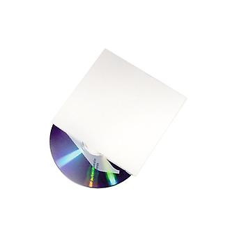 Boxon CD Pocket cardboard white (fp 25 PCs)