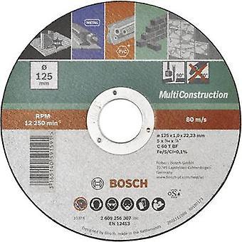 Rett kutte plater, Multi bygging Bosch tilbehør 2609256307 Diameter 125