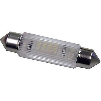 Signal Construct LED festoon S8 Red 12 Vdc, 12 V AC 320 mcd MSOG113902