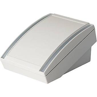 Desk casing 180 x 130 x 86 Acrylonitrile butadiene styrene Grey-white (RAL 9002) OKW DATEC S 1 pc(s)