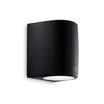 Ideal Lux Keope vägg ljus stor svart