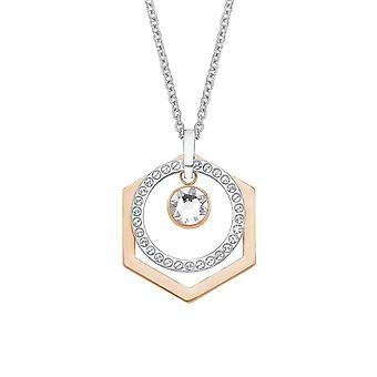 s.Oliver jewel ladies chain necklace stainless steel bicolor 2012588
