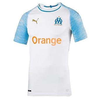 2018-2019 Olympique Marseille Home Puma authentischen EvoKNIT Fußball-Shirt