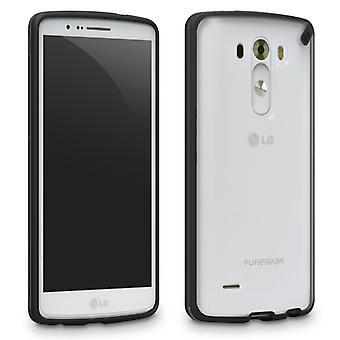 LG G3 PureGEAR Slim Shell Case - Licorice Jelly