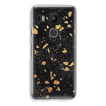 LG Nexus 5X Transparent Case - Terrazzo N°7