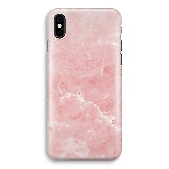 iPhone XS Full Print Case (Glossy) - Pink Marble