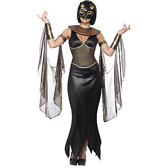 Kvinnor kostymer egyptisk gudinna klä Cat