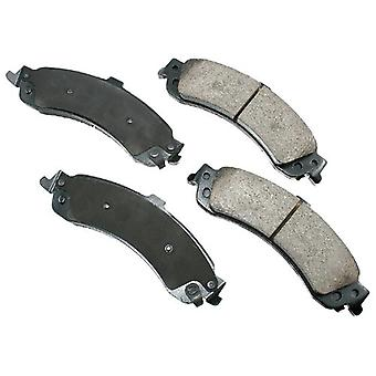 Akebono ACT834 ProACT Ultra-Premium Ceramic Brake Pad Set
