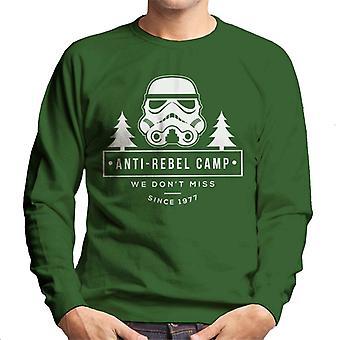 Moletom original Stormtrooper Anti rebelde acampamento masculino