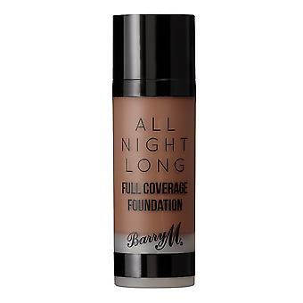 Barry M Barry M All Night Long Full Coverage Foundation - Pecan