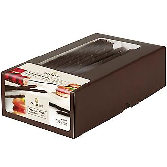 Callebaut Rubens dunkle Schokolade Stifte 20cm lang