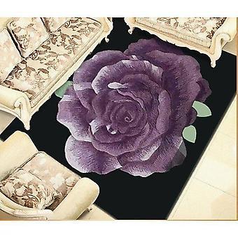 100% Wool Rose Rug