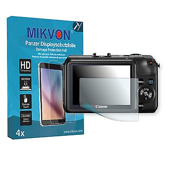 Canon EOS M Screen Protector - Mikvon Armor Screen Protector (Retail Package with accessories)