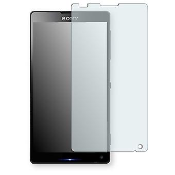 Sony Xperia ZL display protector - Golebo crystal clear protection film