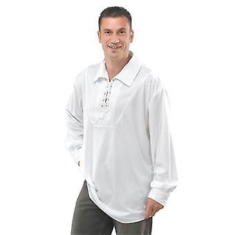 Piraten Shirt - weiss.