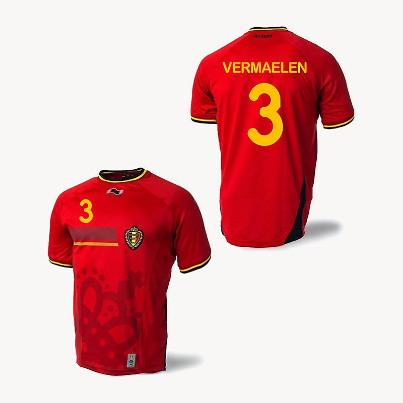 2014-15 Belgium World Cup Home Shirt (Vermaelen 3)