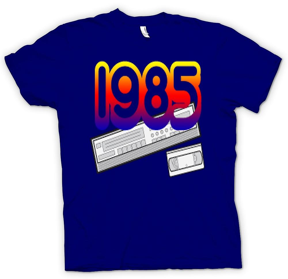 Herr T-shirt-1985 videobandspelare VCR