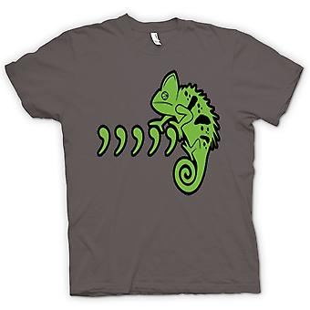 Kids T-shirt - Pet Iguana Lizard And Commas