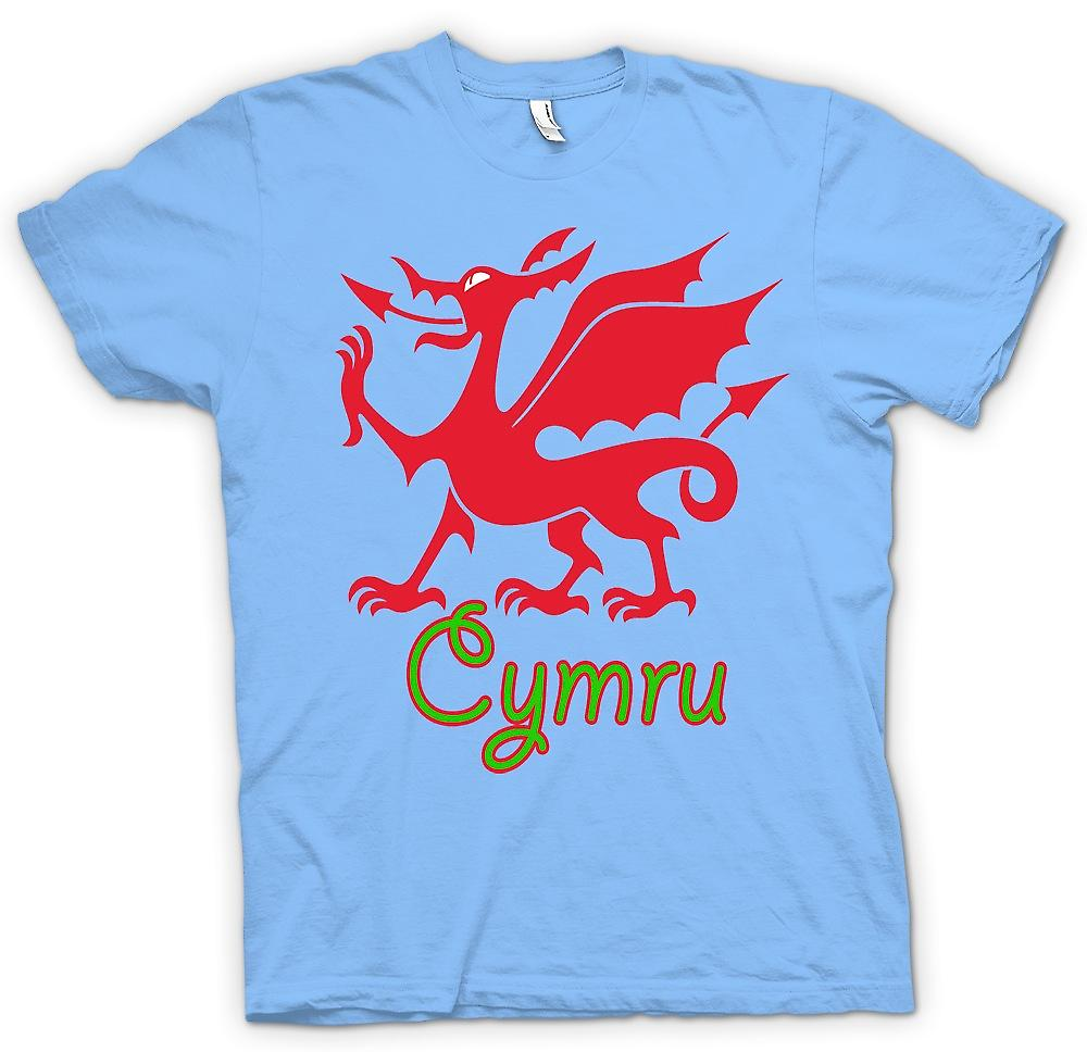 Mens T-shirt - walisischen Drachen - Cymru