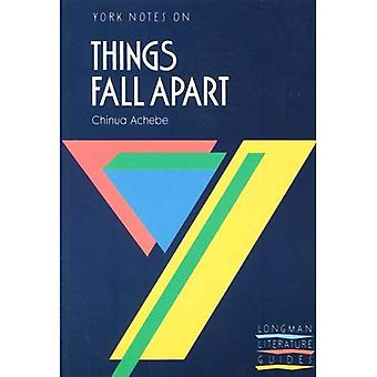 York Notes on Chinua Achebe's  Things Fall Apart  (York Notes)