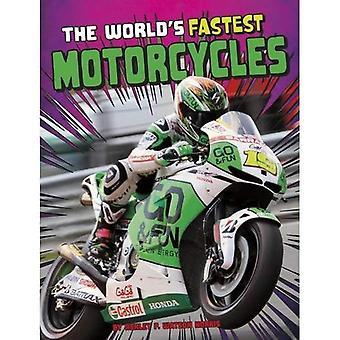 werelds snelste motorfietsen (rand van boeken: World Record Breakers)