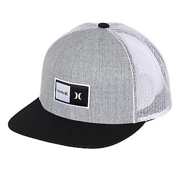 Hurley Men's Snapback Trucker Cap ~ Natural grey