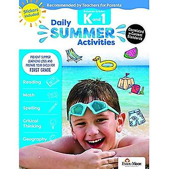 Daily Summer Activities: Moving from Kindergarten to� 1st Grade, Grades K-1 (Daily Summer Activities)