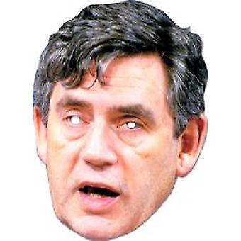 Gordon Brown mascarilla.