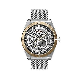 Hugo Boss men's Skeleton Automatic Watch with stainless steel band 1513657