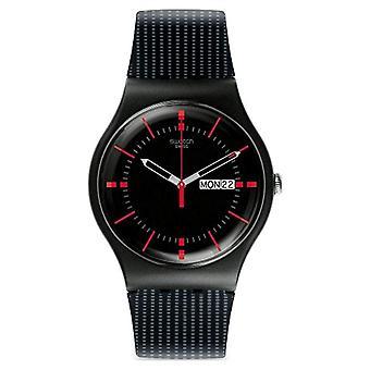 Swatch SUOB714-men's wristwatch, Silicone, color: black