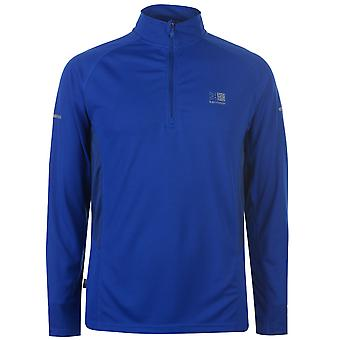 Karrimor Mens Quarter Zip Running Top